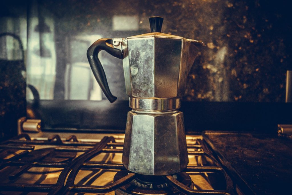 The Italian Moka Stovepot Coffee Maker